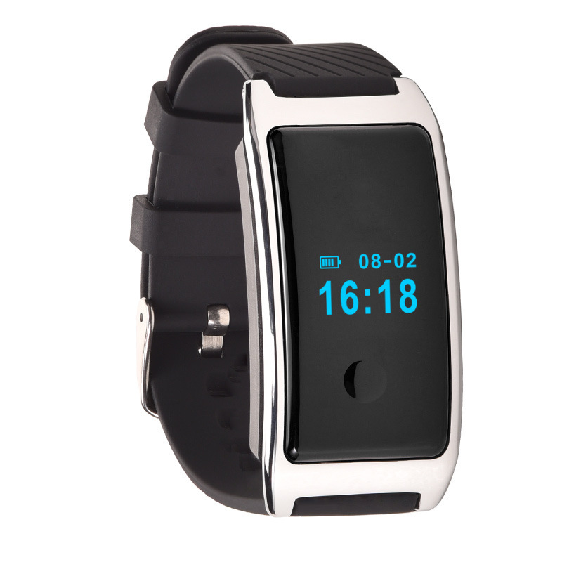 New sports smart Bracelet hand MD8 0 66 Inch OLED Display Silicone Smart Bracelet Silicone Heart