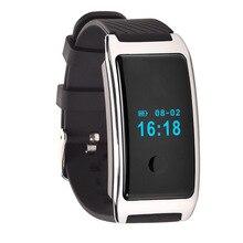Новый спортивный Smart Браслет Ручной MD8 0.66 дюймов OLED Дисплей силиконовые умный Браслет Силиконовый мониторинга сердечного ритма браслет