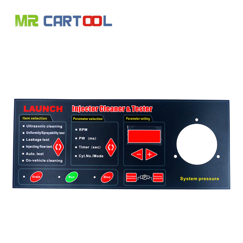 Mr Cartool Genuine English Operation Panel Keyboard For Launch CNC-602A Injector Cleaner Tester