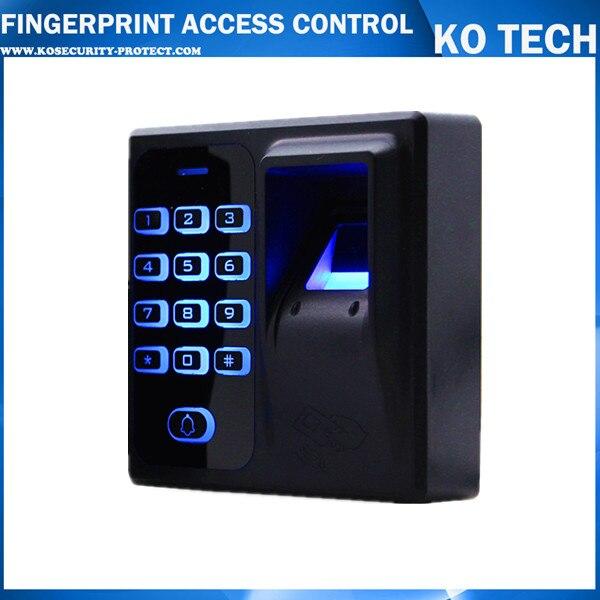 Mini Fingerprint Access Control Fingerprint & RFID Access Control System KD1 Door Security Controller Door Lock Opener gprs real time fingerprint access guard tour system