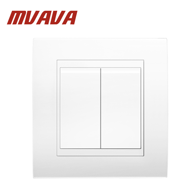 compare prices on wiring 2 lights 1 switch online shopping buy 220v Switch Wiring Diagram mvava 16a 110~250v 220v 2 gang 1 way electrical wiring push button light wall 220v switch wiring diagram