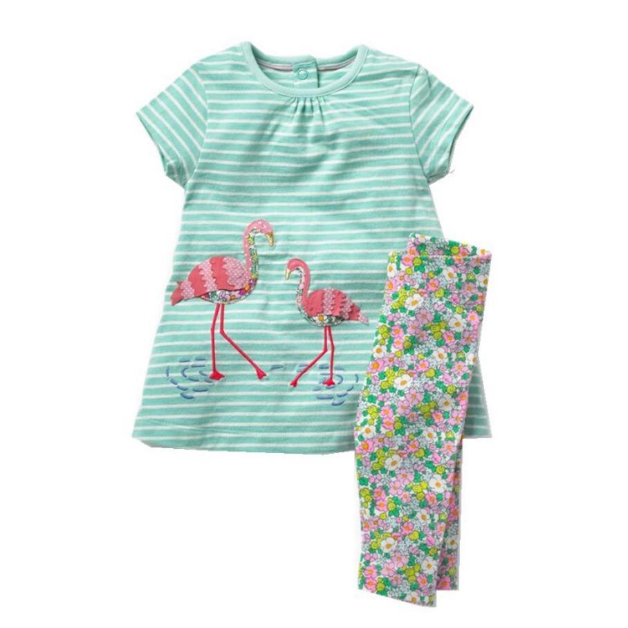 Little maven brand children 2018 summer baby boys clothes cotton childrens sets striped t shirt + shorts