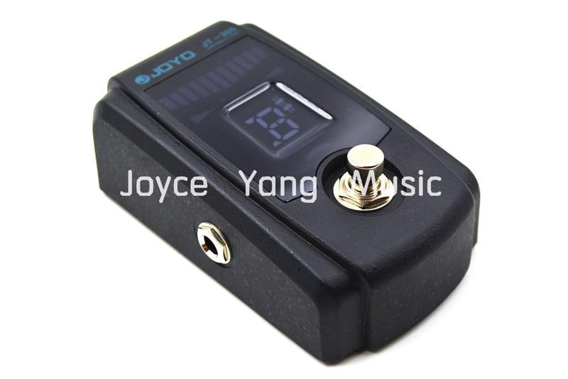 JOYO JT-305 Metal Casing Electric Guitar Pedal Tuner True Bypass Power Supply joyo jt 301 purple