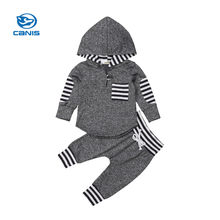 Baby Tracksuit baby boy clothes christmas bebe newborn baby girl clothes Set Kid Newborn Hoodies Pant 2 Pcs Outfits(China)