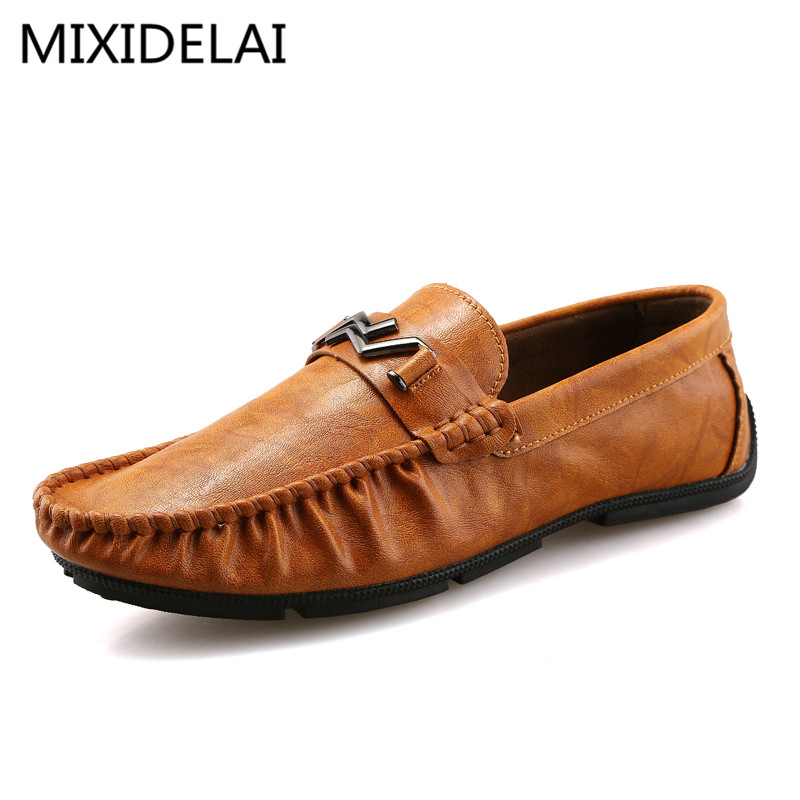 2017 Summer Luxury Driving Breathable Genuine Leather Flats Loafers Men Shoes Casual Fashion Slip On Size 39-44 vesonal 2017 summer luxury driving breathable genuine leather flats loafers men shoes casual fashion slip on size 38 44 v1602