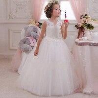 6414 Hoa Thêu Hollow Lại Thanh Thiếu Niên Cô Gái Công Chúa Wedding Party Vải Tuyn Maxi Kids Dresses For Girls Bán Buôn Cô Gái Quần Áo