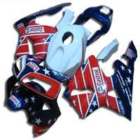 blue white red black motorcycle Injection fairing kits for cbr600 2003 2004 CBR 600 RR 03 04 CBR600RR fairings kit
