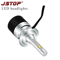 JSTOP fit all car models 12 24V headbulbs H1 H7 H4 H8 H9 H11 HB3/9005 HB4/9006 9012 H27 880 LED canbus Headlights car Headlamps