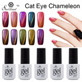 Saviland 1pcs 3D Chameleon Nail Diamond Cat Eyes Gel Soak Off 24 Changing Color Magnet Chameleon Gel Polish