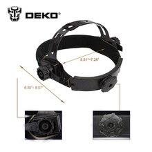DEKO Skull Solar Auto Darkening  MIG MMA Electric Welding Mask/Helmet/welder Cap/Welding Lens for Welding Machine