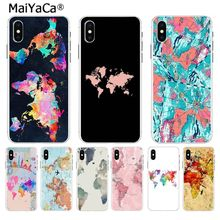 MaiYaCa Travel in the world map planes Special Offer phone case for Apple iPhone 8 7 6 6S Plus X XS max 5 5S SE XR Mobile Cover