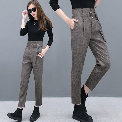 Autumn Loose Trousers New Plus Straight 1 Harlan Women Casual 2 Pants Fashion And Velvet Winter zwZIxg