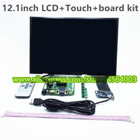12.1 inch TFT large display HDMI LCD Controller board LP121WX3 driver board monitor Capacitive touch screen sensor LVDS VGA 2AV