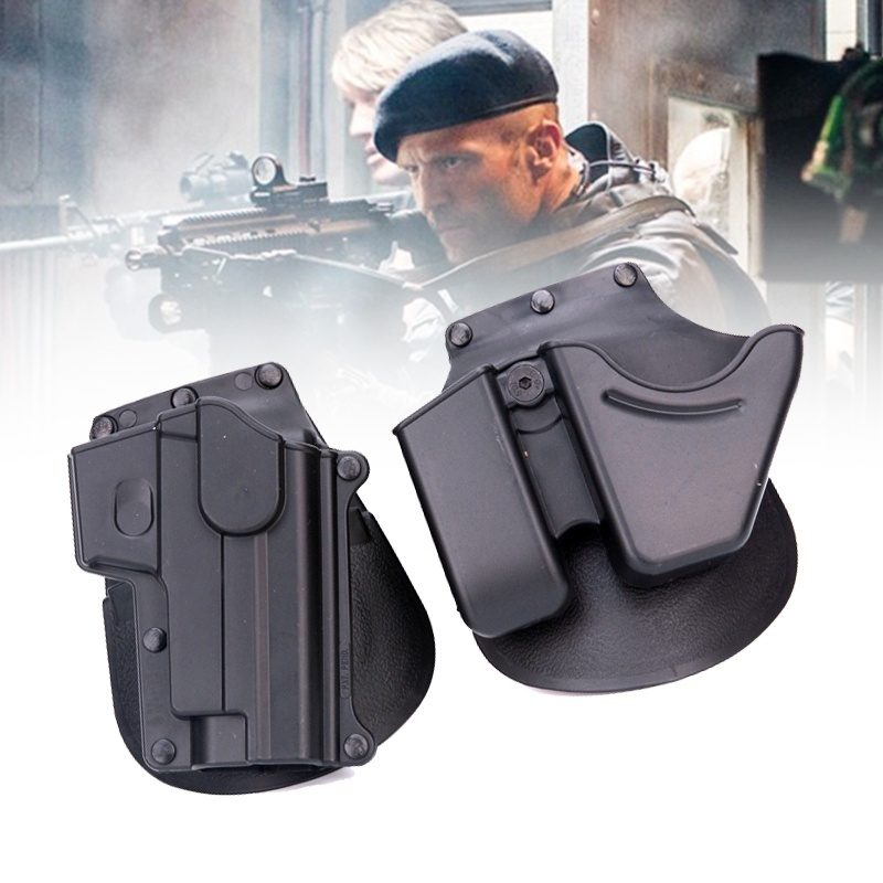 Brand New Hunting Army Pistol SG-21 RH Carry Polymer Paddle Holster For Sig Sauer 220 226 228 245 225 CU9 Magzine Hand Holster