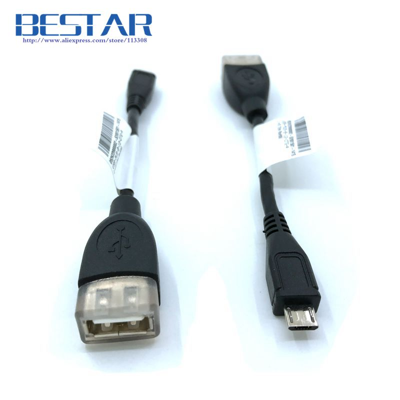High Quality Micro USB 2.0 Male to USB 2.0 Female OTG HOST Connector Cable 10cm Micro-USB 5pin On-The-Go cables