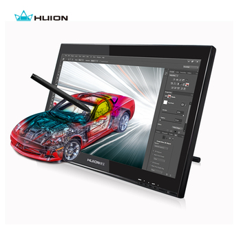 Buy Hot Sale Huion GT-190 19-inch LCD Monitor Digital Graphic Monitor Interactive Pen Display Touch Screen Drawing Monitor With Gift