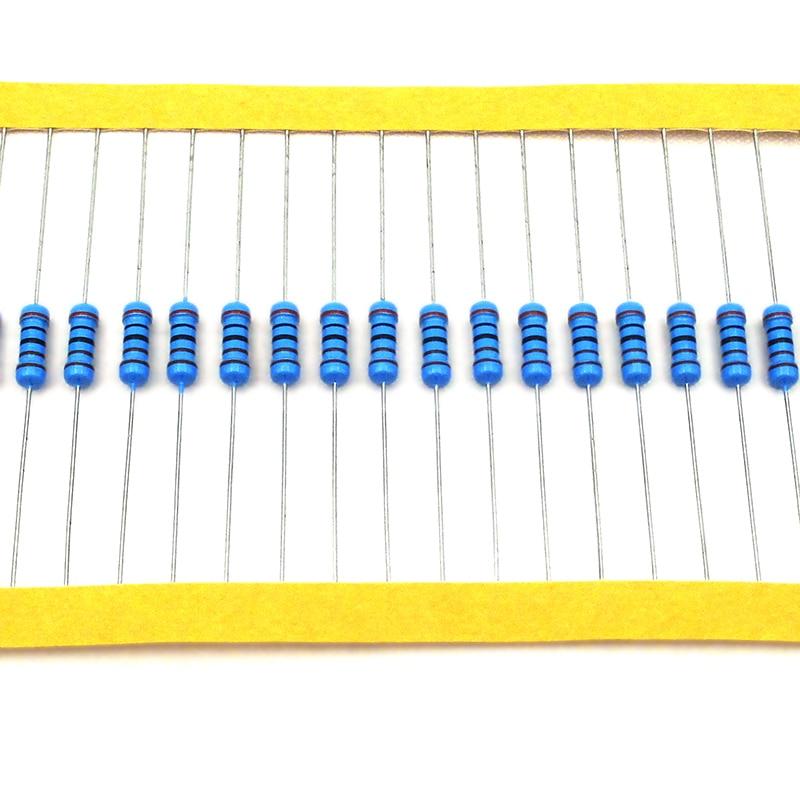 50pcs/lot Metal Film Resistor 1/2W 1% Colored Ring Resistor 10kohm 10K One Resistance