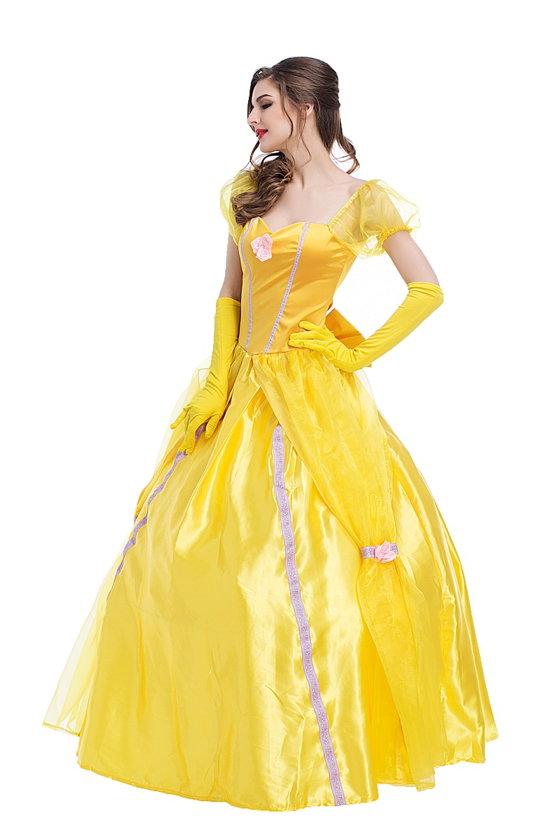 Beauty /& The Beast BELLE perfect for Stage or Fancy Dress Costume Sizes 8-22