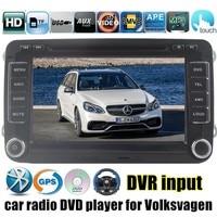 Для VW/Volkswagen/Passat/POLO/GOLF/Skoda/Seat/Leon автомобильный dvd gps плеер RDS мультимедиа аудио стерео 2 din Windows CE 6,0 Core