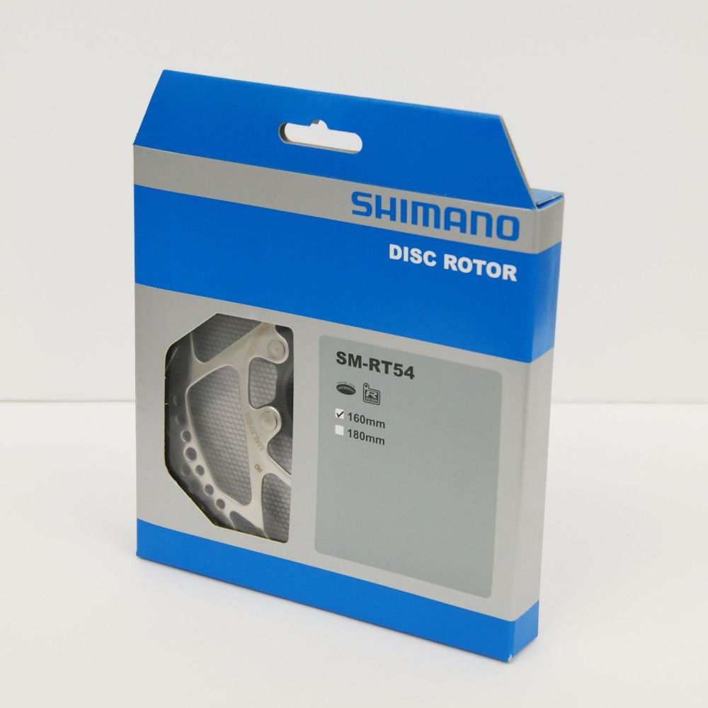 Original <font><b>Shimano</b></font> DEORE Bicycle SM-RT54 Disc Brake Center Lock <font><b>Rotor</b></font> 160/<font><b>180mm</b></font> MTB Mountain Bike Bicycle Parts image