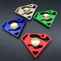 Superman Sign EDC Sensory Fidget Spinner High Speed Autism And ADHD Kids Adult Hand Spinner Rotation