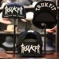 2016 New Fashion Trukfit Letters Embroidery Snapbacks Hat Hip Hop Cap Dance Baseball Caps Skull Gorras Bones Touca For Men Women