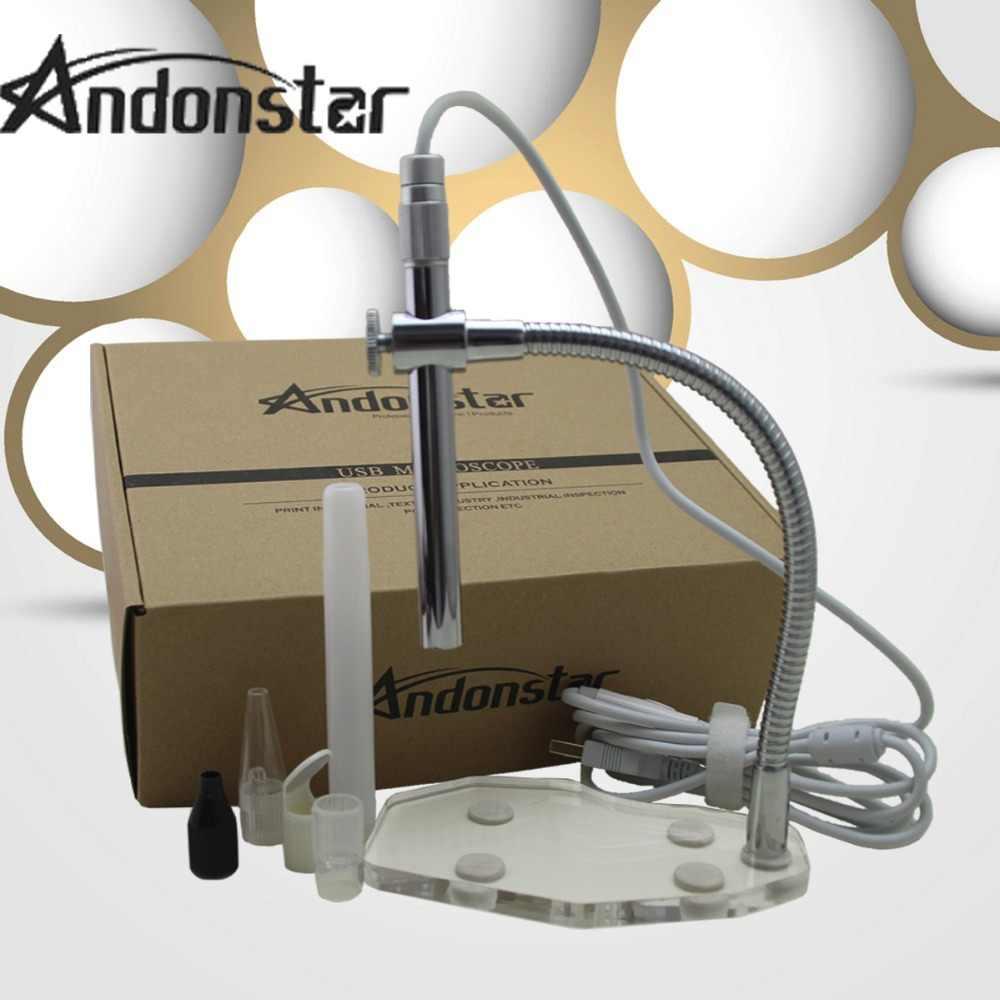 Andonstar 2MP Kỹ Thuật Số Kính Hiển Vi USB Kính Hiển Vi Máy Ảnh Nội Soi Loupe Kính Lúp Webcam