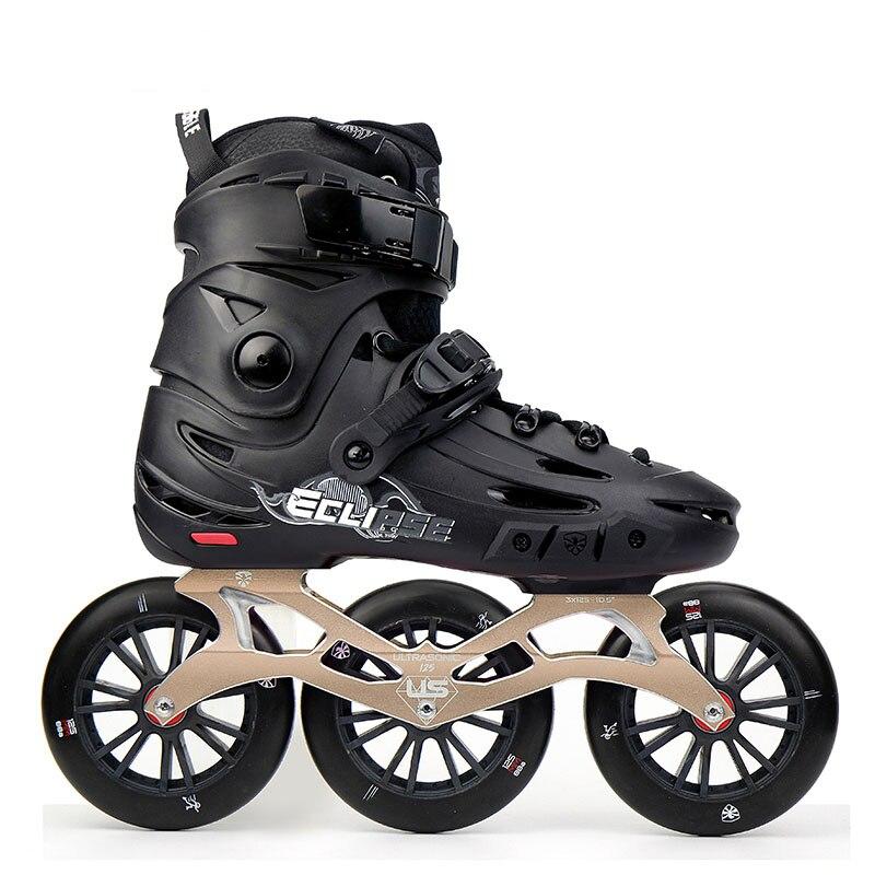 Japy Patin Aigle Volant F125 Vitesse Patin à roues alignées Avec 3*125mm Roues Faucon Adulte Roller Chaussure Rue style libre Patines