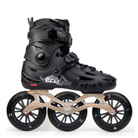 Japy Skate Flying Eagle F125 Speed Inline Skate With 3*125mm Wheels Falcon Adult Roller Skating Shoe Street Free Skating Patines