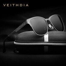 Summer new veithdia polarizadas diseñador de la marca gafas de sol de los hombres de la vendimia gafas de sol gafas gafas gafas de sol masculino