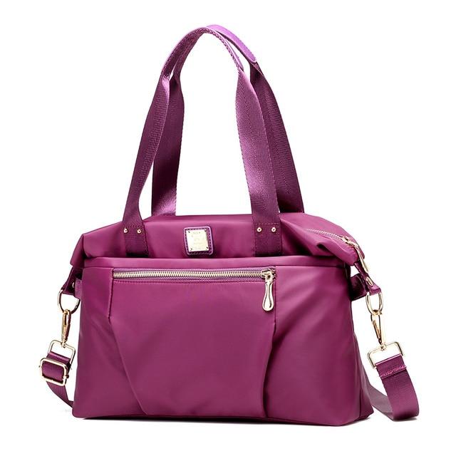 276c5b2b8144 Women s handbags 2018 New Multifunction Tote Shoulder messenger bag fashion  crossbody bag nylon for girl bolsas femininas