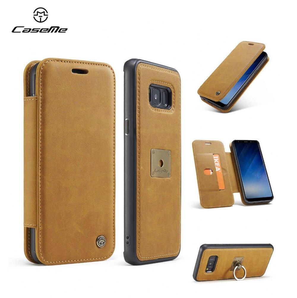 CaseMe Finger Ring Car Stand Case for Samsung font b Galaxy b font font b S8