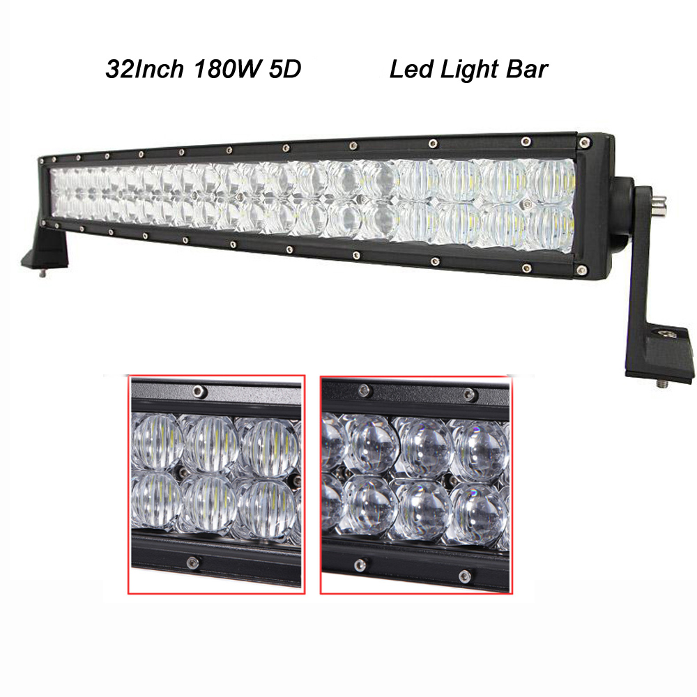 Curved 180w 32 inch led light bar combo beam 18000 lumen 3w60 pcs curved 180w 32 inch led light bar combo beam 18000 lumen 3w60 pcs leds with 5d optics for 4wd suv offroad truck atv in car light assembly from aloadofball Gallery
