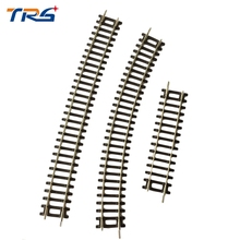 3types train track you can choose 1/87 scale Model trains  track   High Speed Rail train railway railroad tracks Kids Toys ho scale model railway 1 87 scale train riders standard track roller test stand with 6 trolleys train treadmill track bearing