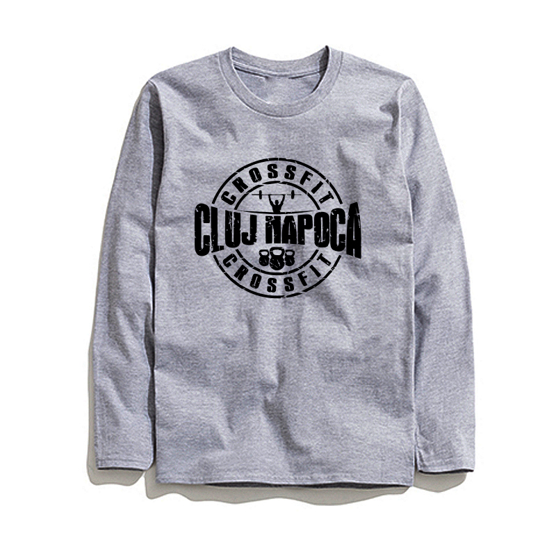 COOLMIND CR0111L 100% cotton male tops tee shirt long sleeve men T shirt casual o-neck men T-shirt fashion knitted tshirt