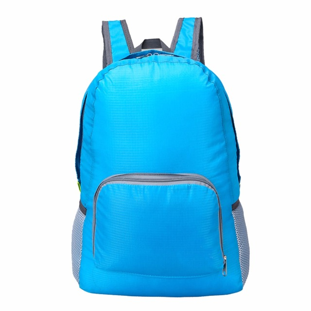 20L Lightweight Foldable Waterproof Backpack Women Men Skin Pack Outdoor Sports Camping Hiking Travel Nylon Bag Rucksack 4 Color 3