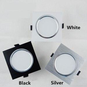 Image 3 - 2.5 אינץ Downlight LED 6 w 9 w 12 w 220 v טבע לבן כיכר שקוע LED מנורת ספוט אור לסלון מבואה שינה מטבח