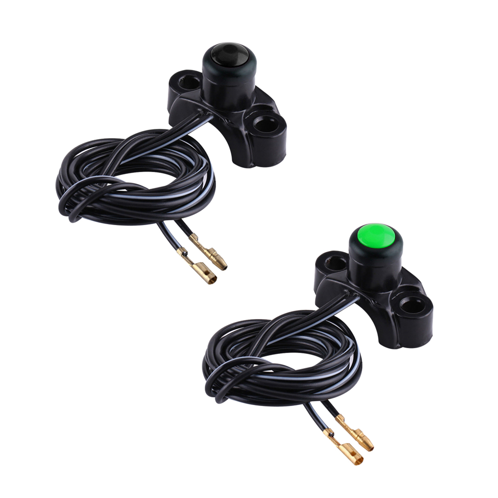 Image 5 - 1 Pcs Universal Motorcycle Engine Kill Stop Start Button Switch For  ATV Quad Bike Go Carts Etc Motorcycle Switches Accessories-in Motorcycle Switches from Automobiles & Motorcycles