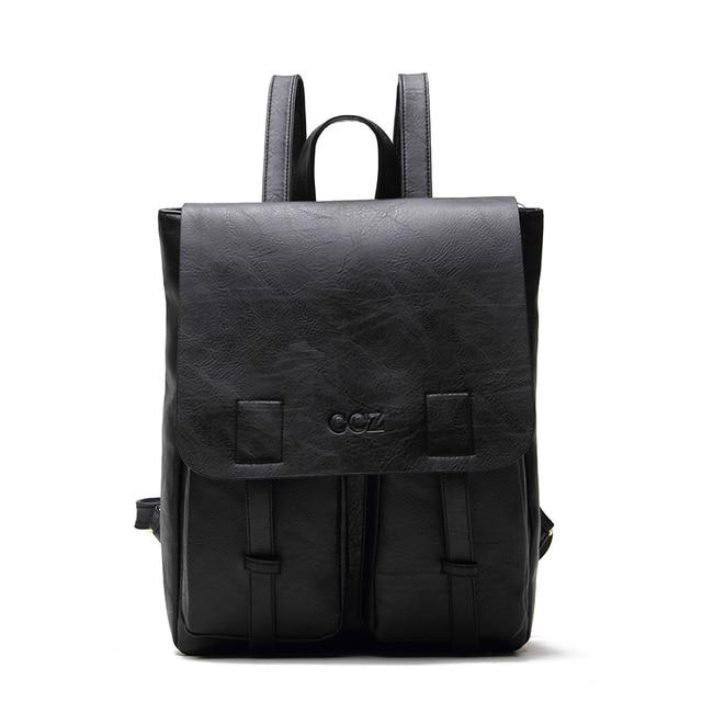 """CROSS OX мужской рюкзак непромокаемые рюкзаки PU кожаные сумки Мода 14 """"Рюкзак Школьная Сумка BK8005"""