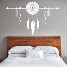 Dream Catcher With Arrow Wall Decal Bedroom Decor New Design Vinyl Sticker Removable Home Wallpaper AY1601