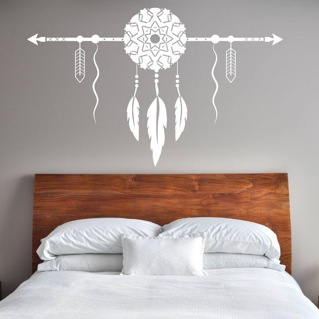 dream catcher with arrow wall decal bedroom decor new design dream