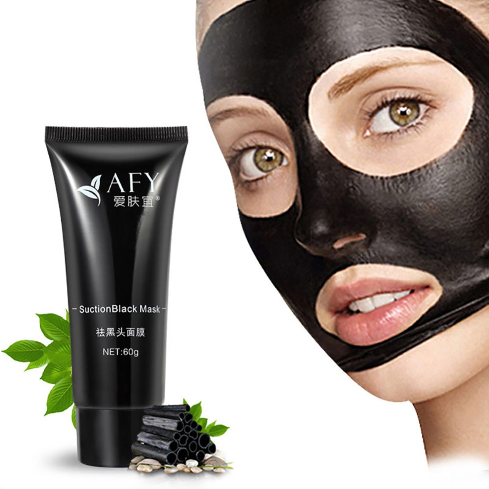 Face Mask AFY Suction Black Mask Deep Cleansing