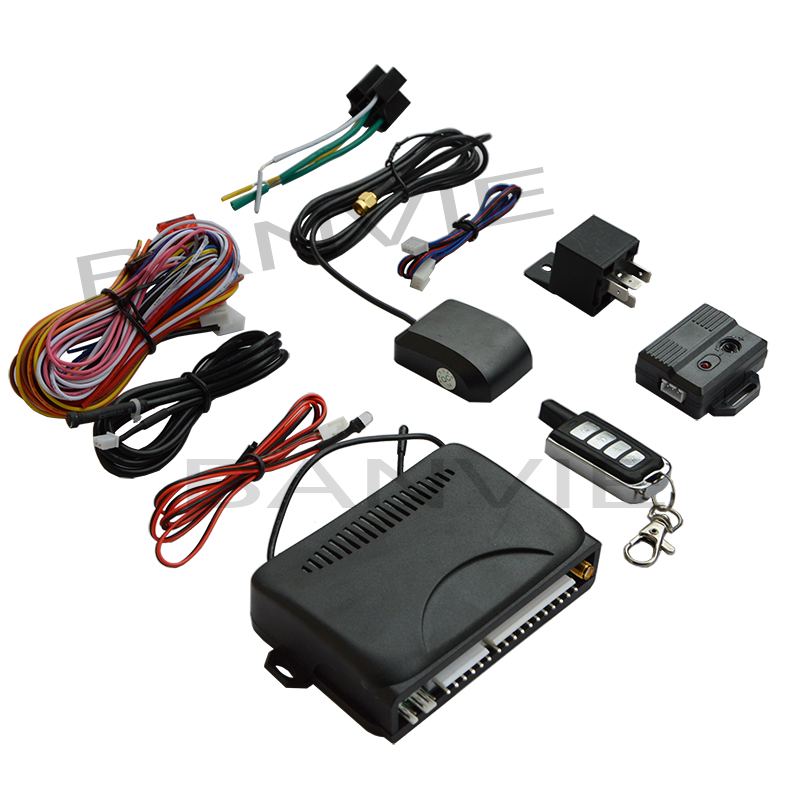 2 in 1 One way car alarm system + GPS tracker device with keyless entry remote trunk release GPRS GSM Vehicle Tracking Device rf v8 direct factory high efficiency gps tracker tracking device 4 band gsm gps gprs car vehicle motorcycle alarm
