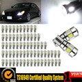 100 UNIDS 6SMD T10 5630 W5W 194 168 2825 Error Free Car Light bombillas Led Auto Car Luz de Niebla Aparcamiento Luz Canbus Bombilla Cuña