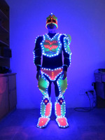 LED robot suit for performance/Ultraman/glowing clothes /light up costume
