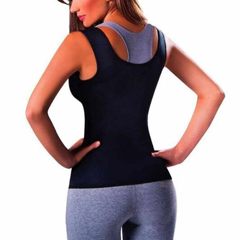 903c818502 ... Neoprene Vest Waist Trainer Fajas Sweat Body Shaper Slimming Shapewear  Tank Top Workout Corset breast care ...