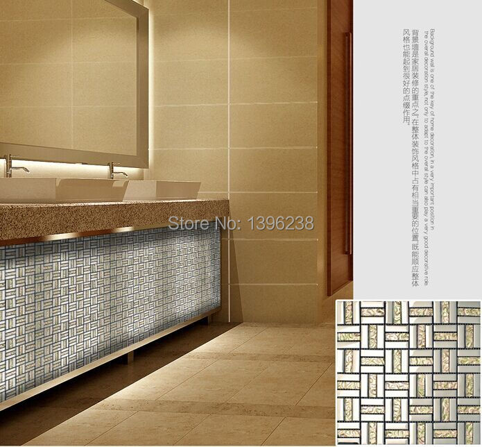 Warmes Licht Golen Kristall Glas Gemischte Streifen Mosaik Fliesen Design  Für Küche Backsplash Badezimmer Arbeitsplatte Hause Wand Dekor, LSDD09 In  Warmes ...