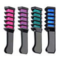 New Semi Permanent Hair Color Chalk Powder With Comb Temporary Hair Mascara Multicolor Dye HB88