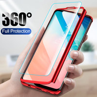 ZNP 360 Phone Case For Samsung Galaxy S10 S9 S8 Plus S7 Edge Case Shockproof Full Cover Shell For Samsung Note 9 8 S10E S9 Cases