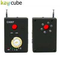 CX007 Full Range Frequency Detector Multi-function Signal Camera Phone GSM GPS WiFi Bug Spy RF Detector Finder
